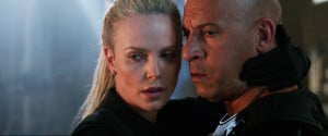 "Charlize Theron is cipher, lethal villain of ""Fast & Furious 8"""